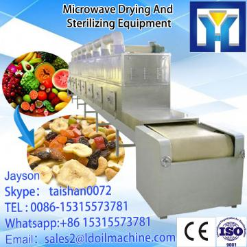 2017 hot selling low consumption microwave tunnel dryer