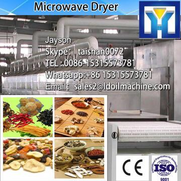 top grade high efficiency apple slice microwave drying machine