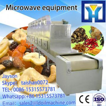 Food Fruit Seafood Textured Meats Tunnel Microwave Drying Machine