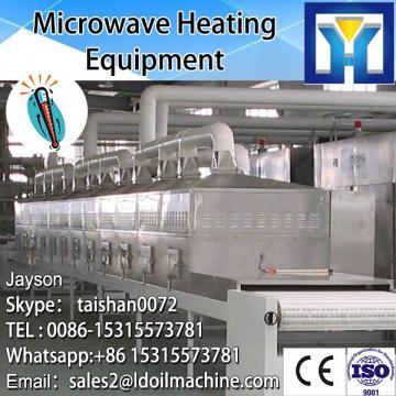 Tunnel Conveyor Belt type Microwave Rice Flour Sterilizer Machine