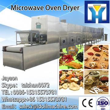 China supplier microwave dewatering machine for henna powder