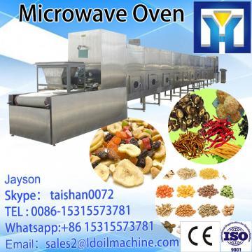 Pet food microwave processing machine