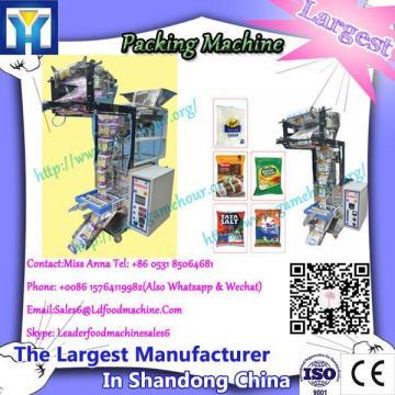 Sanitation standard coincident automatic frozen food packaging machine