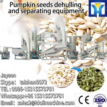 Pumpkin seed shell and separation unit