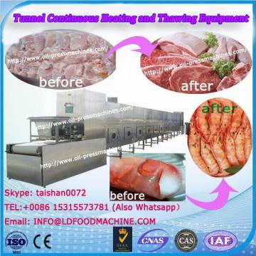 Frozen Lunch Box Heating Fish Microwave Heating And Thawing Equipment