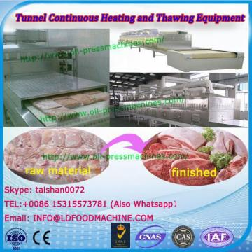 Frozen Fast Food Return Temperature Fish Microwave Heating And Thawing Equipment