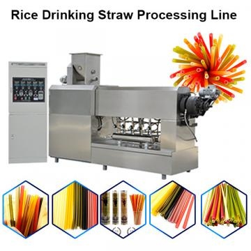 2020 new product rice straw machine / pasta straw processing line / spaghetti machine