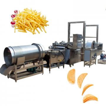 french fries production equipment Small potato chips machine cassava cutting machine
