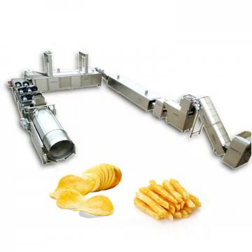 potato chips line Quick-freezing pre-air dryer fruit vegetable washing drying processing machinery