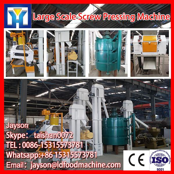 Stainless steel hydraulic olive oil expeller machine