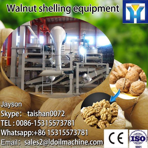 100% broken rate automatic walnut sheller machine